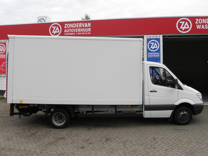 Mercedes Sprinter met lift